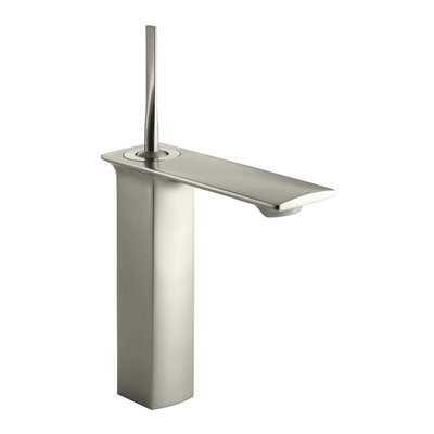 Stance Tall Single-Hole Bathroom Sink Faucet Finish: Vibrant Brushed Nickel K-14761-4-BN