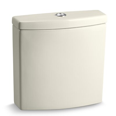 Escale Dual-Flush Toilet Tank Finish: Biscuit