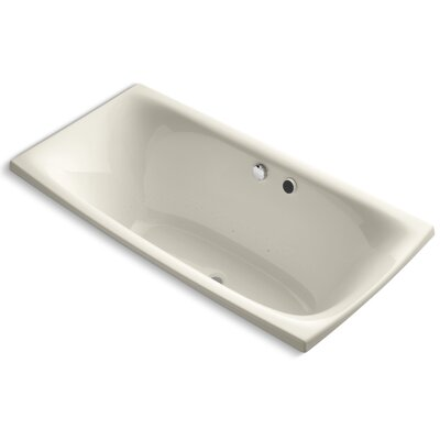 Escale 72 x 36 Air Bathtub Finish: Almond