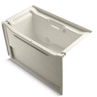 Elevance 60 x 34 Air Bathtub Finish: Almond