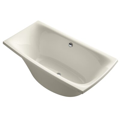 Escale 72 x 36 Soaking Bathtub Finish: Almond