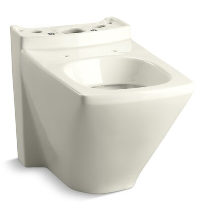 Escale Dual-Flush Toilet Bowl Finish: Biscuit
