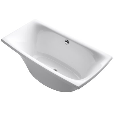 Escale 72 x 36 Soaking Bathtub Finish: White