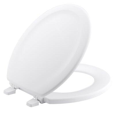 Stonewood Round-Front Toilet Seat Finish: White