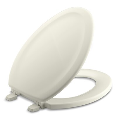 Stonewood Elongated Toilet Seat Finish: Biscuit