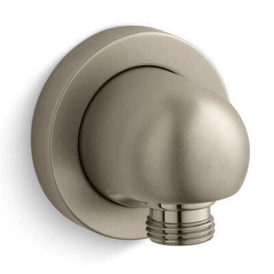 Stillness Wall-Mount Supply Elbow Finish: Vibrant Brushed Bronze