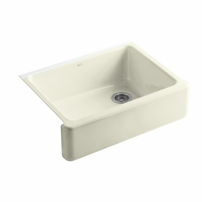 Whitehaven 29.69 x 21.69 Farmhouse Single Bowl Kitchen Sink Finish: Cane Sugar