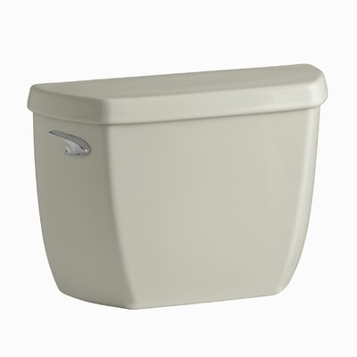 Wellworth Classic 1.28 GPF Toilet Tank with Class Five Flushing Technology and Left-Hand Trip Lever with Tank Locks Finish: Sandbar K-4436-T-G9
