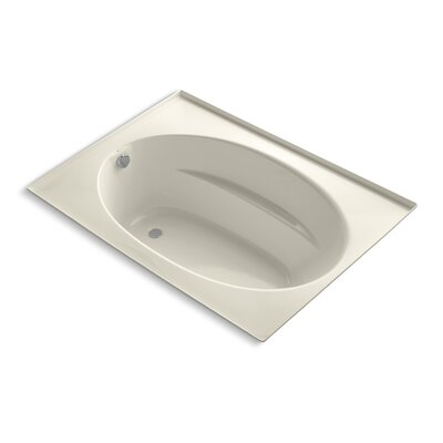 Windward 60 x 42 Soaking Bathtub Finish: Almond