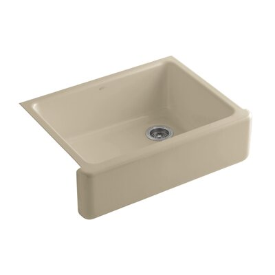Whitehaven 29.69 x 21.69 Farmhouse Single Bowl Kitchen Sink Finish: Mexican Sand