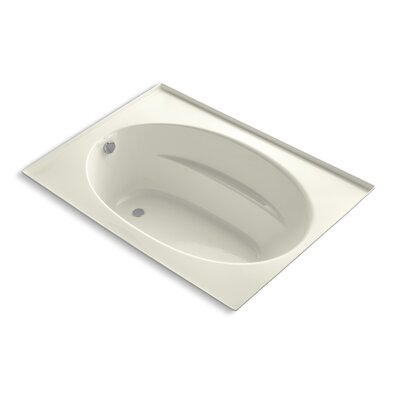 Windward 60 x 42 Soaking Bathtub Finish: Biscuit
