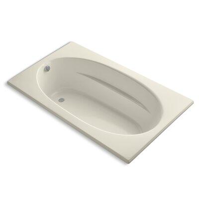 Windward 72 x 42 Soaking Bathtub Finish: Almond