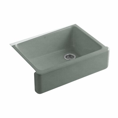 Whitehaven 29.69 x 21.69 Farmhouse Single Bowl Kitchen Sink Finish: Basalt