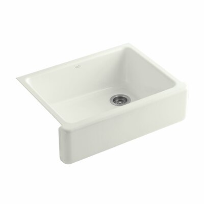 Whitehaven 29.69 x 21.69 Farmhouse Single Bowl Kitchen Sink Finish: Dune