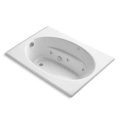 Windward 60 x 42 Whirlpool Bathtub Finish: White