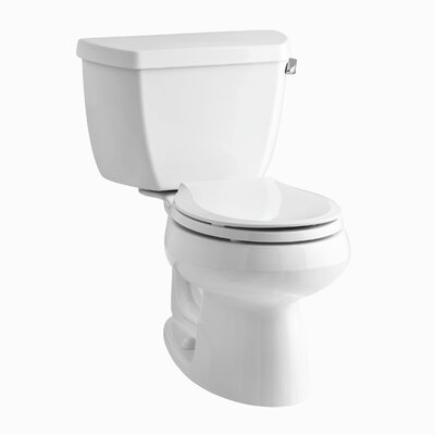 Wellworth Classic 1.28 GPF Round Two-Piece Toilet Finish: White