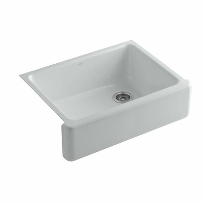 Whitehaven 29.69 x 21.69 Farmhouse Single Bowl Kitchen Sink Finish: Ice Grey