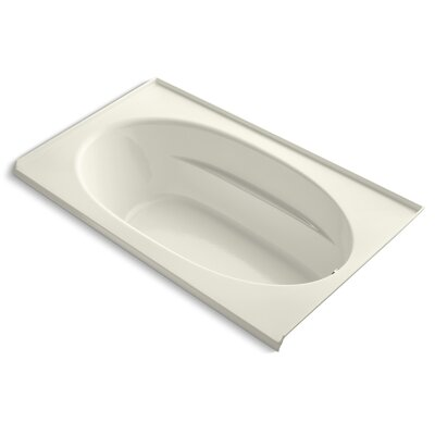 Windward Alcove 72 x 42 Soaking Bathtub Finish: Biscuit