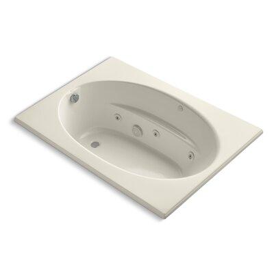 Windward 60 x 42 Whirlpool Bathtub Finish: Almond