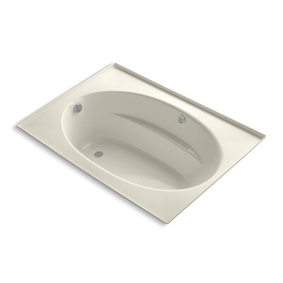 Windward Bubblemassage 60 x 42 Whirpool Bathtub Finish: Almond