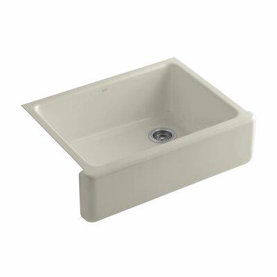 Whitehaven 29.69 x 21.69 Farmhouse Single Bowl Kitchen Sink Finish: Sandbar