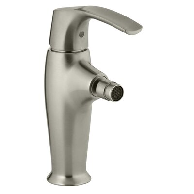 Symbol Horizontal Swivel Spray Aerator Bidet Faucet with Lever Handle Finish: Vibrant Brushed Nickel