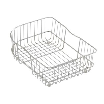 Efficiency Sink Basket for Executive Chef and Efficiency Kitchen Sinks Finish: Stainless Steel