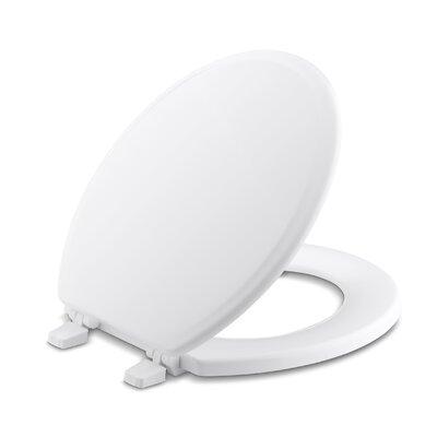 Ridgewood Round-Front Toilet Seat Finish: White