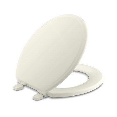 Ridgewood Round-Front Toilet Seat Finish: Biscuit