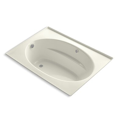 Windward Bubblemassage 60 x 42 Whirpool Bathtub Finish: Biscuit