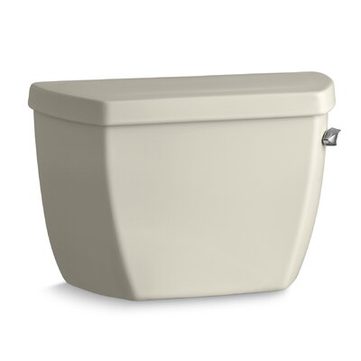 Highline Classic 1.6 GPF Toilet Tank with Pressure Lite Flushing Technology and Right-Hand Trip Lever Finish: Almond