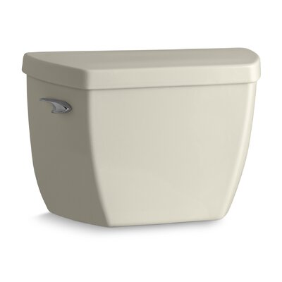 Highline Classic Toilet Tank with Pressure Lite Flushing Technology and Tank Cover Locks Finish: Almond