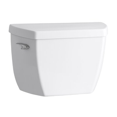 Highline Classic 1.6 GPF Toilet Tank with Pressure Lite Flushing Technology Finish: White