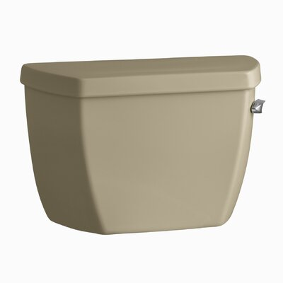 Highline Classic 1.6 GPF Toilet Tank with Pressure Lite Flushing Technology, Tank Cover Locks and Right-Hand Trip Lever Finish: Mexican Sand K-4645-TR-33