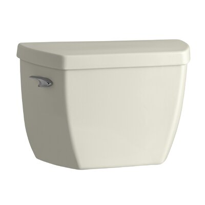 Highline Classic 1.6 GPF Toilet Tank with Pressure Lite Flushing Technology Finish: Biscuit