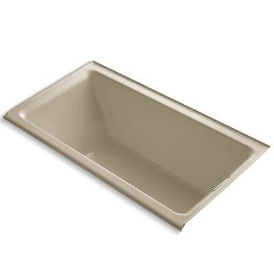 Tea-For-Two Alcove 66 x 36 Soaking Bathtub Finish: Mexican Sand