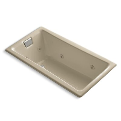 Tea-For-Two 60 x 32 Whirlpool Bathtub Finish: Mexican Sand
