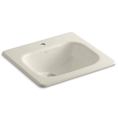 Tahoe Self Rimming Bathroom Sink Finish: Almond