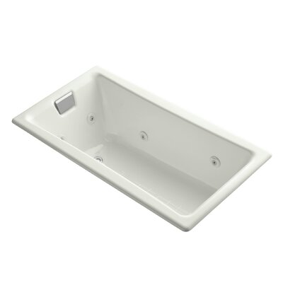 Tea-For-Two 60 x 32 Whirlpool Bathtub Finish: Dune