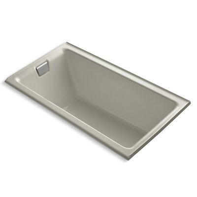 Tea-For-Two Alcove 66 x 36 Soaking Bathtub Finish: Sandbar
