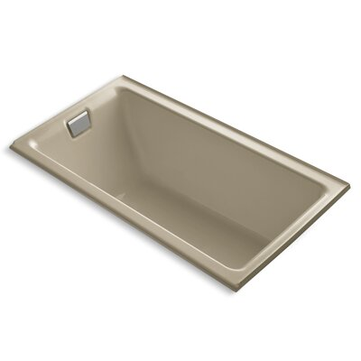 Tea-For-Two Alcove 66 x 36 Soaking Bathtub Finish: Mexican Sand