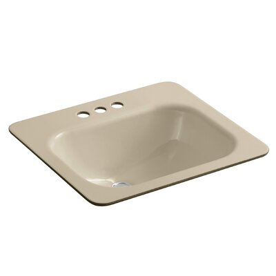 Tahoe Rectangular Undermount Bathroom Sink Finish: Mexican Sand