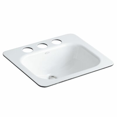 Tahoe Rectangular Undermount Bathroom Sink Finish: White