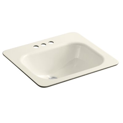 Tahoe Rectangular Undermount Bathroom Sink Finish: Almond