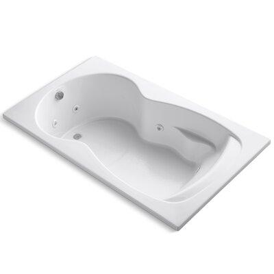 Synchrony 72 x 42 Whirlpool Bathtub Finish: White