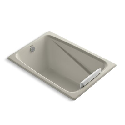 Greek 48 x 32 Soaking Bathtub Finish: Sandbar