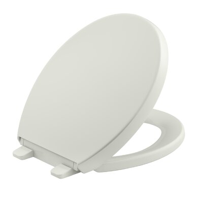Reveal Quiet-Close with Grip-Tight Round-Front Toilet Seat Finish: Dune