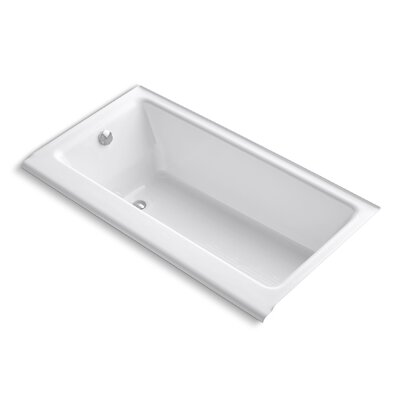 Highbridge Alcove 60 x 32 Soaking Bathtub Finish: White