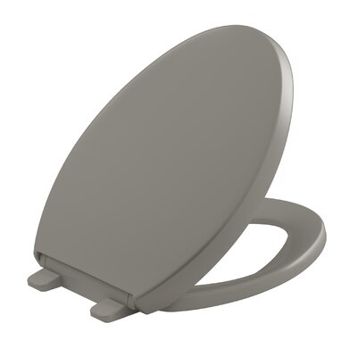 Reveal Quiet-Close with Grip-Tight Elongated Toilet Seat Finish: Cashmere
