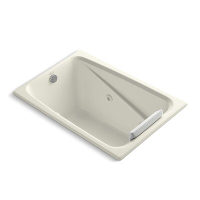 Greek 48 x 32 Whirlpool Bathtub Finish: Biscuit